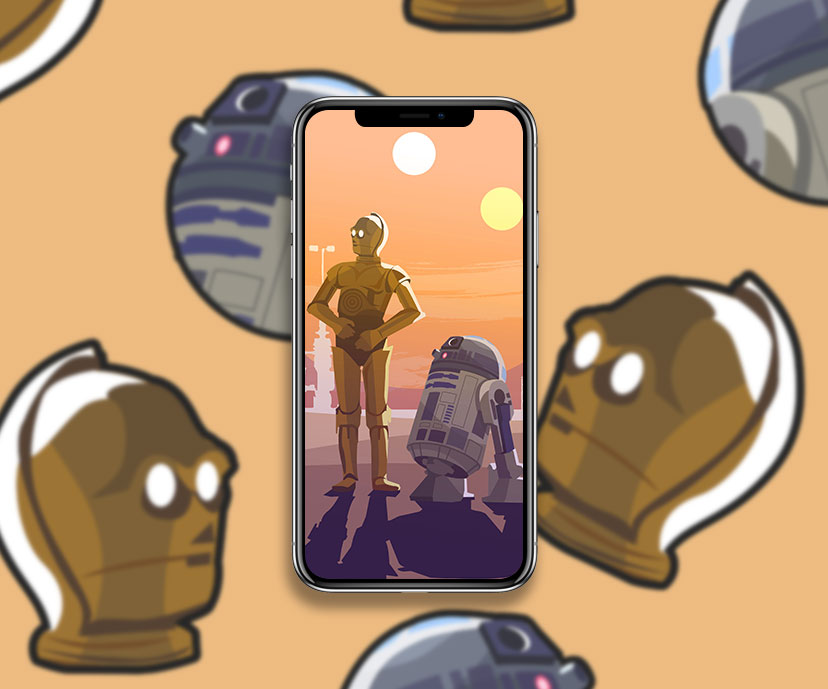 star wars c3po r2d2 wallpapers collection