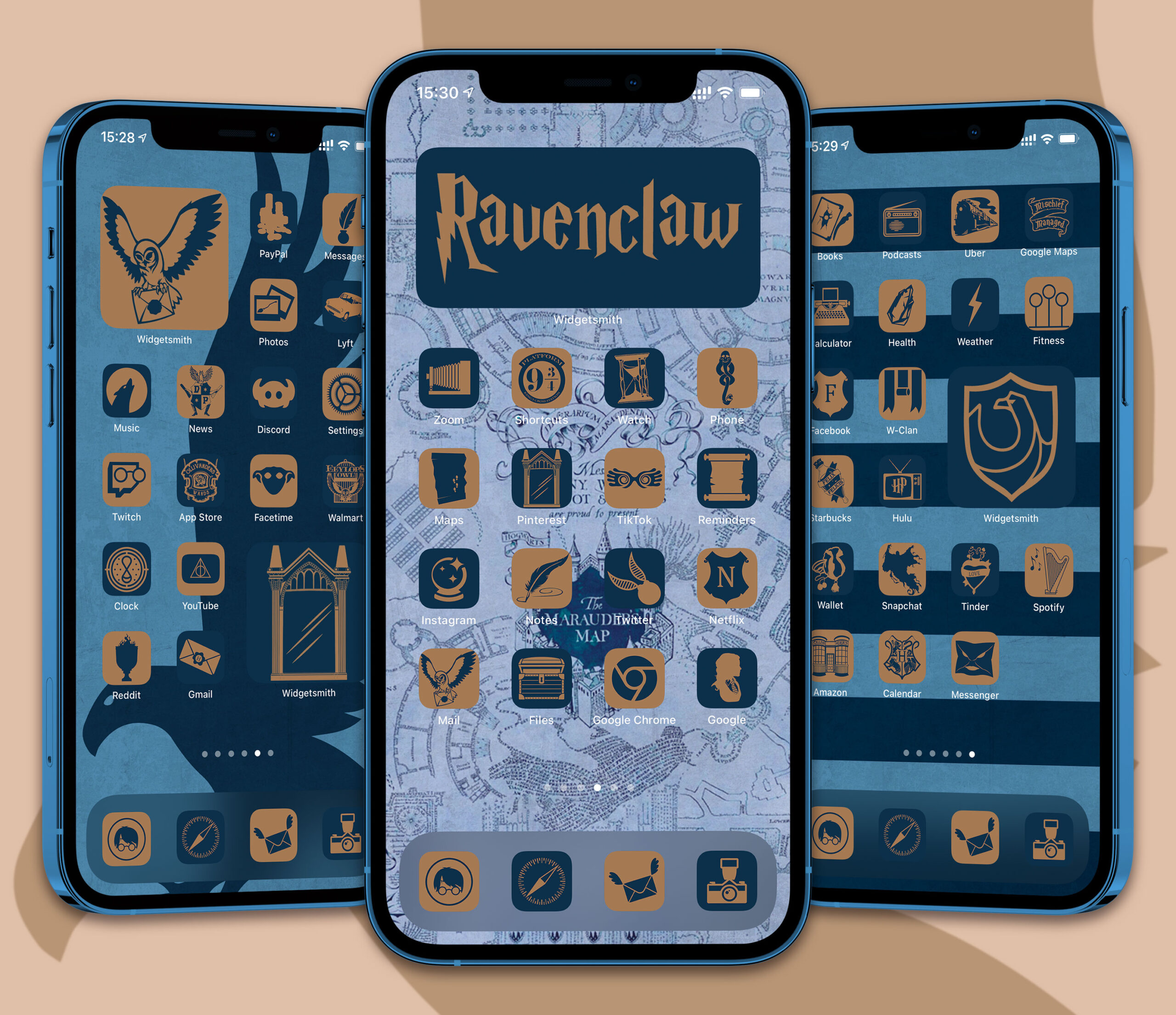 harry potter ravenclaw app icons pack preview 1