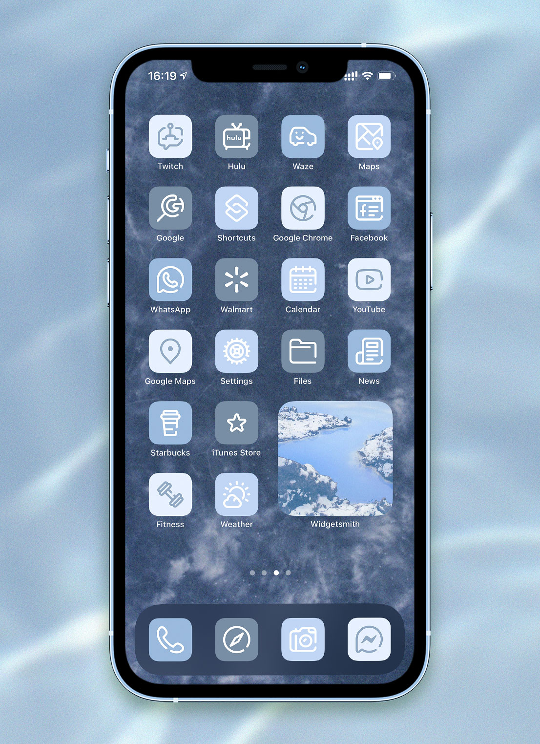 light blue app icons pack preview 3