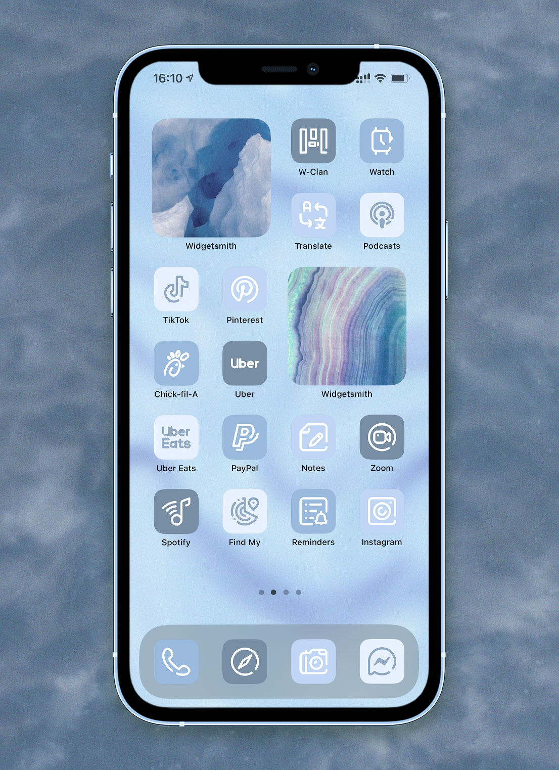 light blue app icons pack preview 4