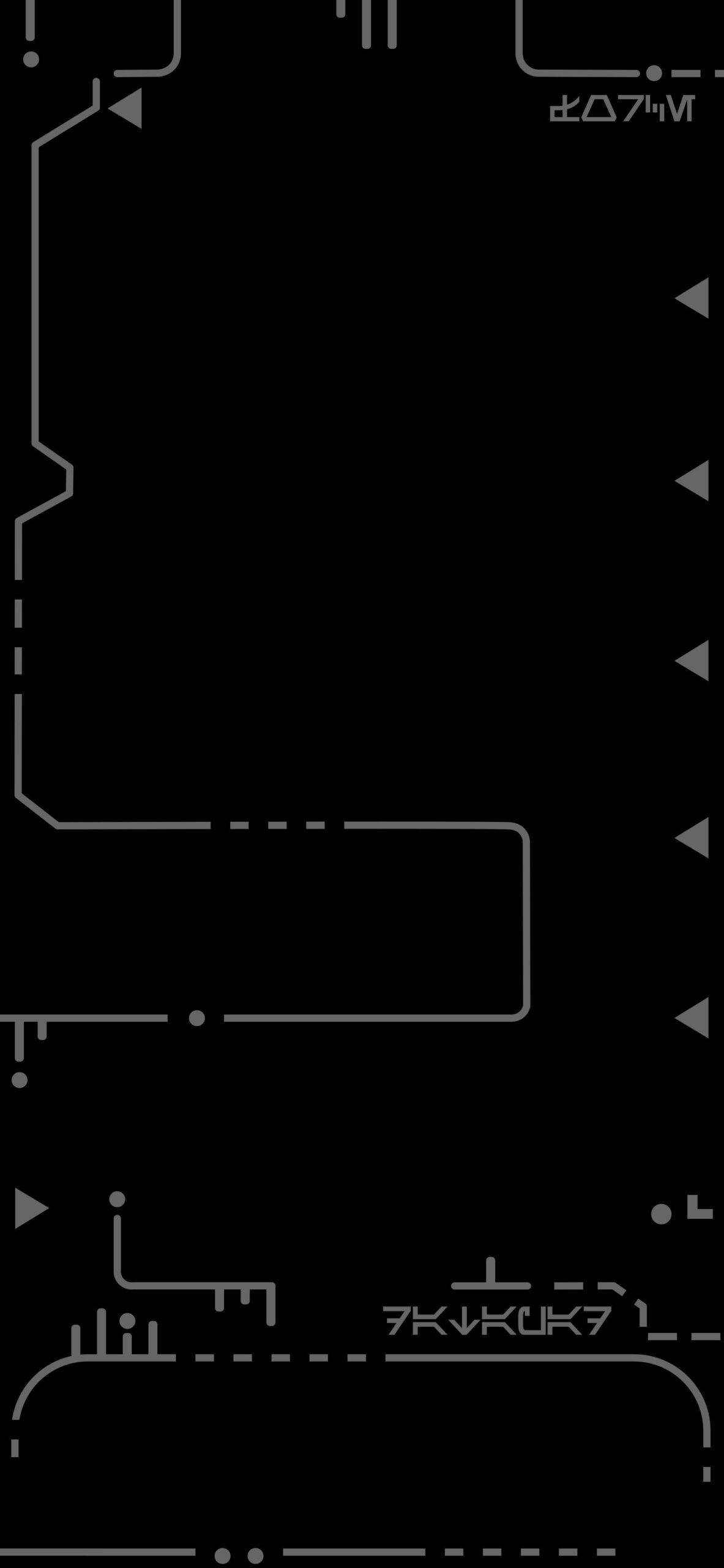 star wars datapad black background